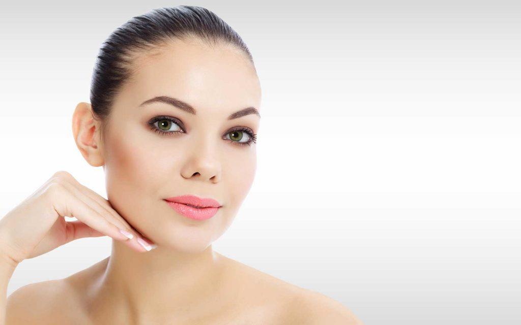 woman skin face
